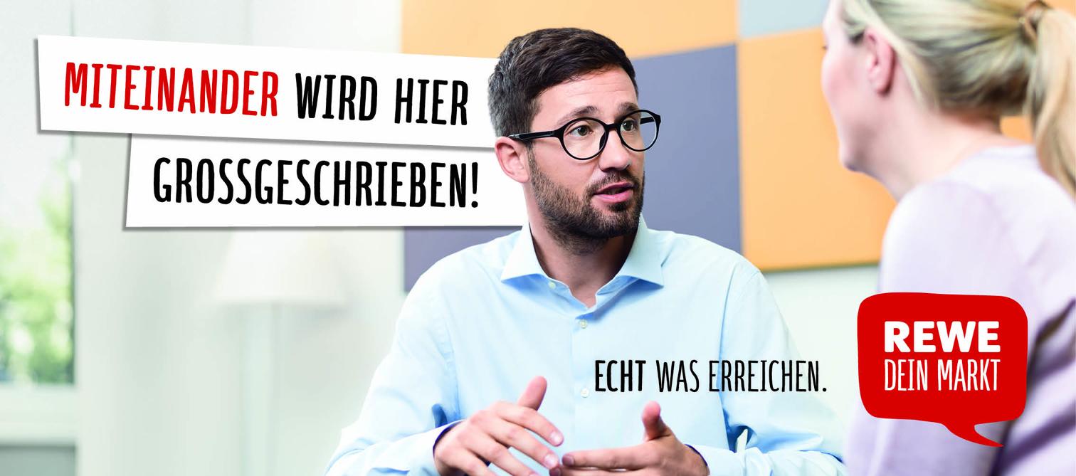 Deutschlandweit und direkt um die Ecke: Als Teil der REWE Group überzeugt  REWE mit über 3.300 Märkten durch sein innovatives Sortiment, Regionalität  und ...